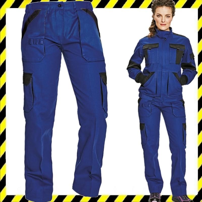MAX LADY női munkaruha nadrág kék fekete 7e28aeafc5