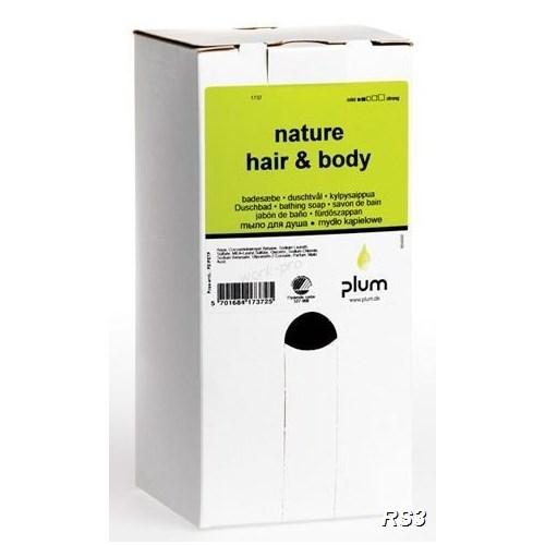 PLUM NATURE HAIR&BODY TUSFÜRDŐ ÉS SAMPON 1,4