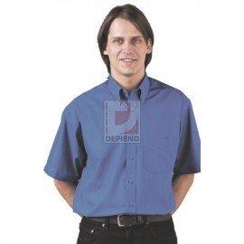 Prémium ing, rövid ujjú, royal kék