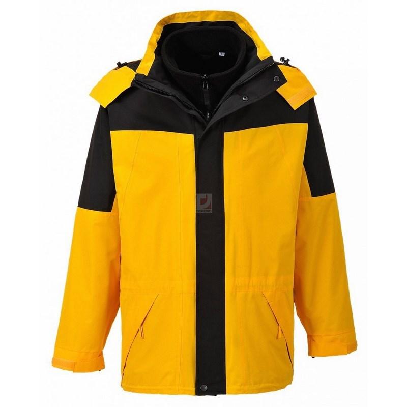 Aviemore 3 az 1-ben férfi dzseki sárga 26a6e941a1