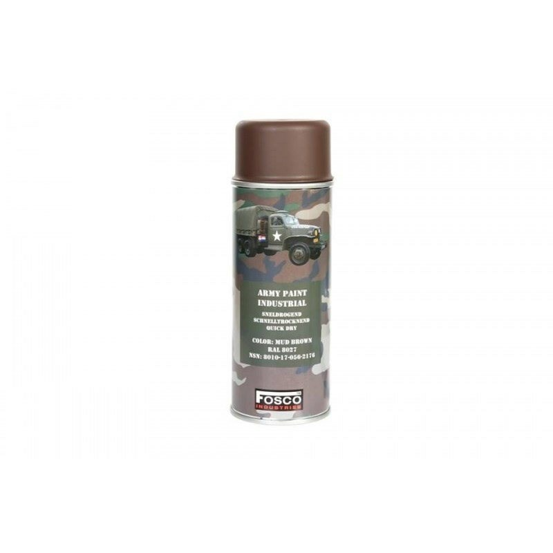 SPRAY ARMY 400ml BARNA RAL8027