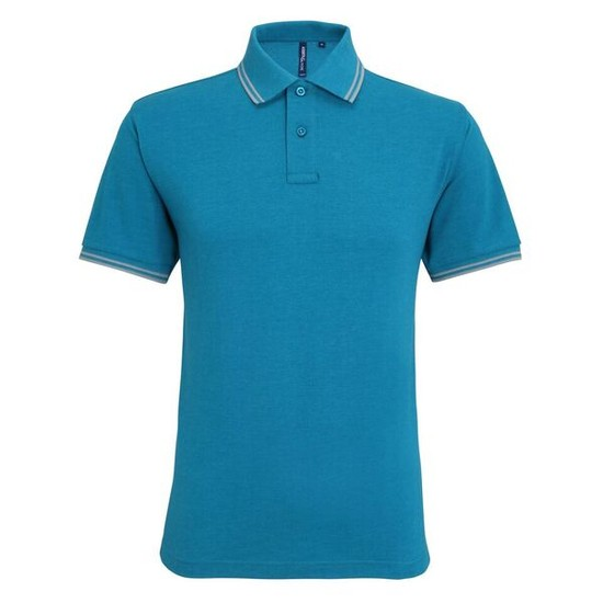 FÉRFI CLASSIC FIT TIPPED POLO /tlh/hgr