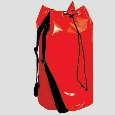 Cado szerszámtartó matróztáska erős, vízhatlan piros PVC anyag