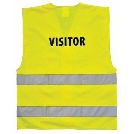 VISITOR láthatósági mellény sárga