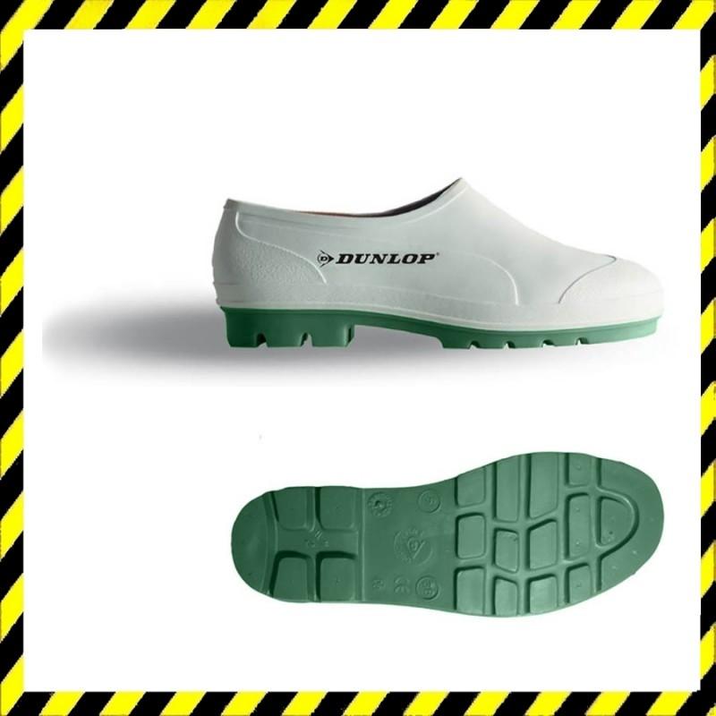 Dunlop Nitril talpú cipő, zoknira húzható, víz- és lúgálló fehér