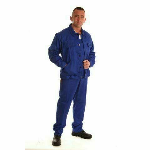 ECOblue kevertszálas dzseki - kék munkaruha dzseki