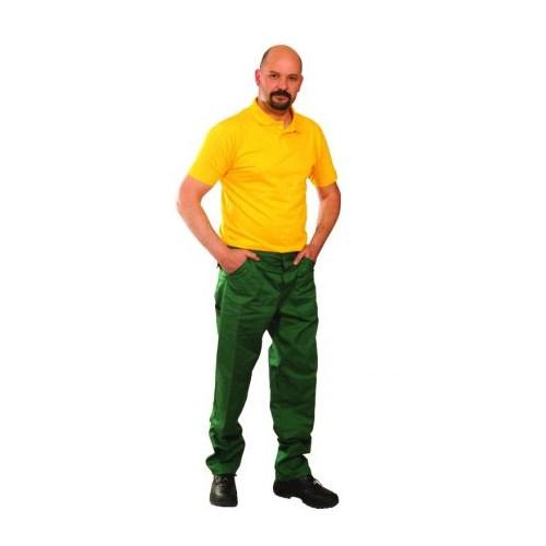 Ecogreen kevertszálas derekasnadrág - zöld nadrág
