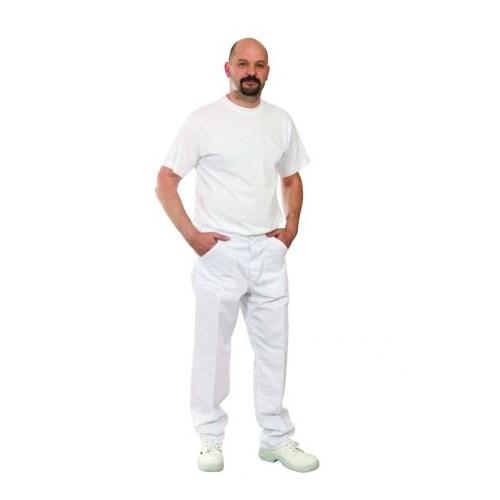 Ecowhite kevertszálas derekasnadrág - fehér nadrág
