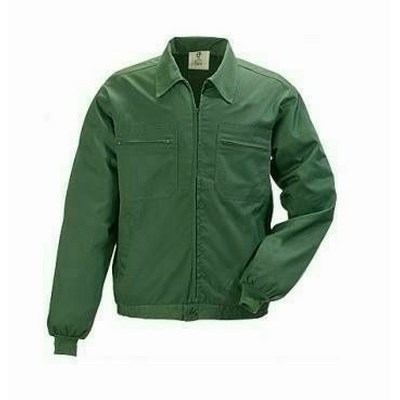 Factory munkakabát, sötétzöld - derekánál gumírozott dzseki fazo