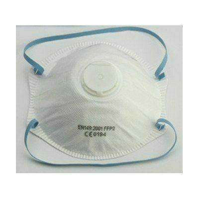 Csésze formájú FFP2-es szelepes maszk