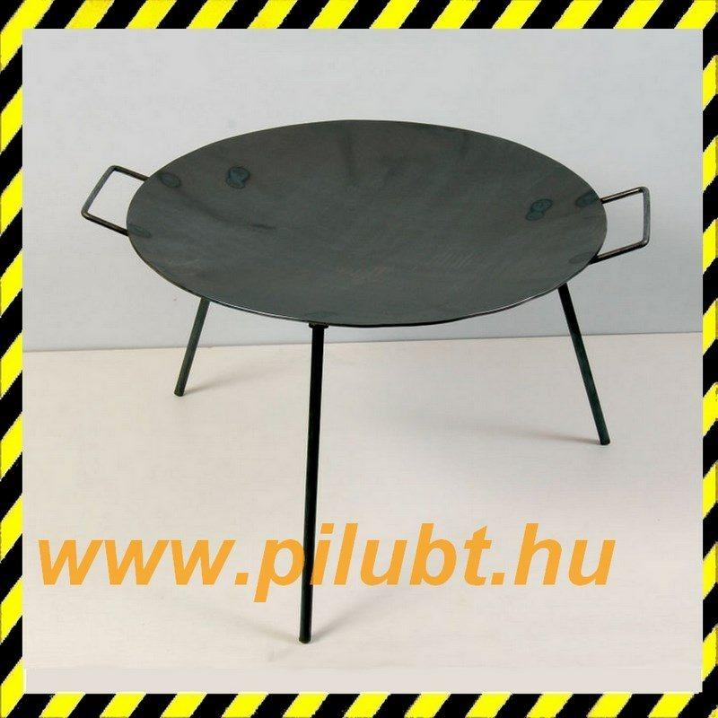 Flekkensütő, sütő tárcsalap, sütőtárcsa vas 50 cm