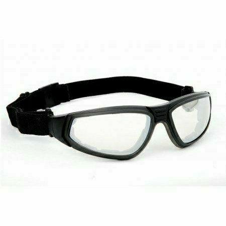 Flylux szemüveg, cserélhető gumipántos és száras szett, karcment