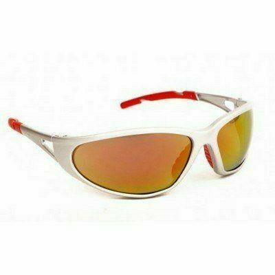 Freelux szemüveg, piros tükrös lencse, nagy szilárdságú ezüst ke