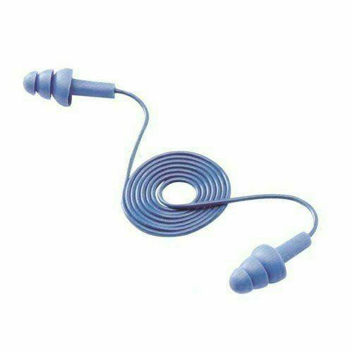 E.A.R. Tracers fémjelzős, zsinóros füldugó, lamellás, kék