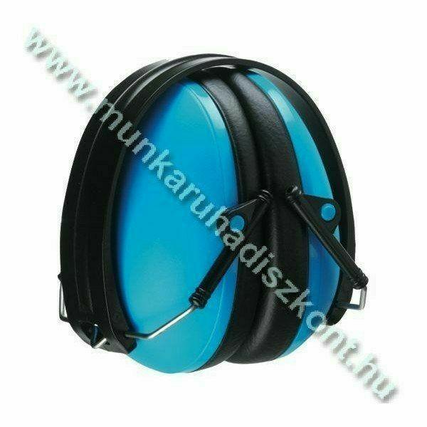 MAX 600 kék fültok, összecsukható, állítható fémpánttal