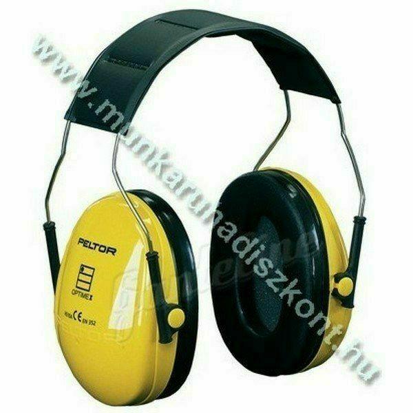 Peltor Optime I sárga fültok H510A (régi H9-es), SNR 27dB
