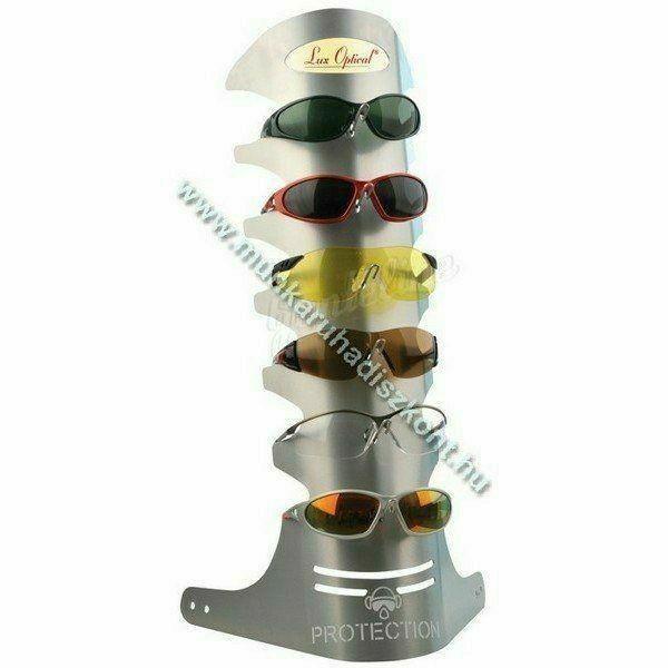 Lux Optical fém bemutatóállvány 6 db szemüveghez