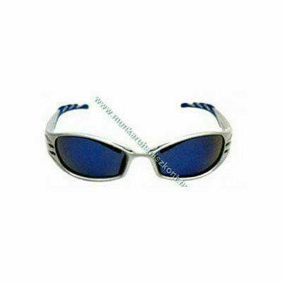 Peltor FUEL kék-tükrös szemüveg tükrös kék lencse, platinum szár