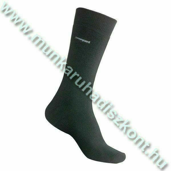 Arborea 95% Thermolite, 5% Spandex, hőszigetelő zokni, fekete