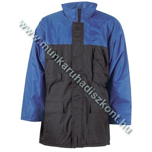 CONNEMARA sötét-/királykék vízhatlan kabát, poliészter bélés