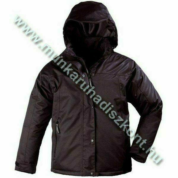 LADY fekete női kabát