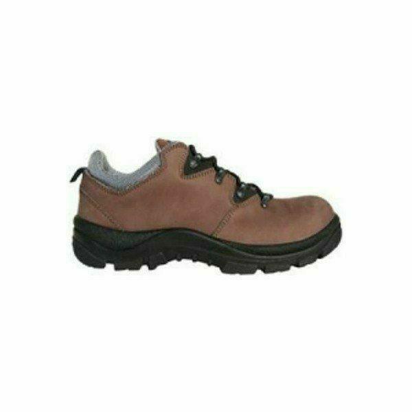 TRAP (02) nubuk bőr félcipő, trekking fazon, kényelmes talpbélés