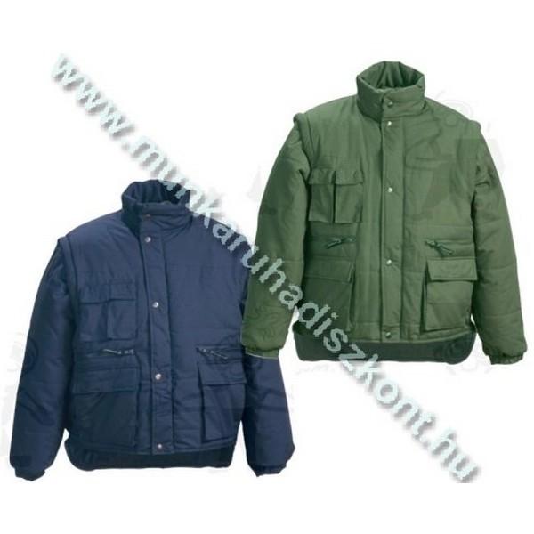 POLENA SLEEVE zöld dzseki