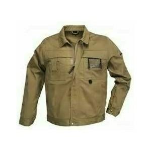 CLASS barna kabát, cipzáras plusz patentos, 8 zseb