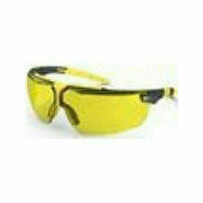 Uvex  I5 szemüveg szürke/sárga keret, állítható szár