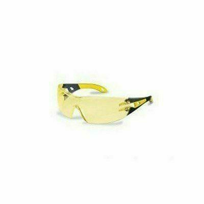 Uvex  Pheos szemüveg sárga/fekete szár, körkörösen védő