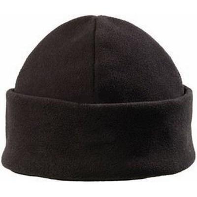 Cover hat fekete polár sapka, 280 g/m2, puha, hőszigetelő anyag