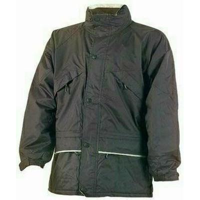 ISA fekete polárbéléses kabát fényvisszaverő csíkkal