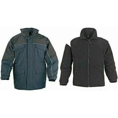 RIPSTOP fekete szakadásbiztos kabát