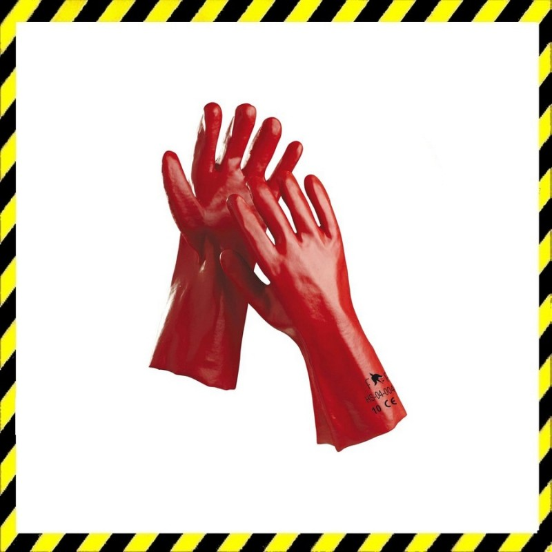 Redstart Light PVC kesztyű 35 cm Méret 10