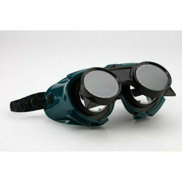 Lánghegesztő védőszemüveg felhajtható lencsével