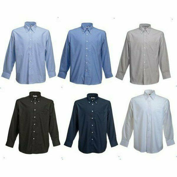 Fruit Long Sleeve Oxford Shirt - hosszú ujjú ing