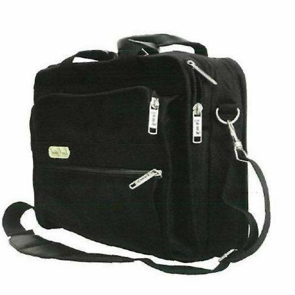Lux Optical váll- és laptop táska, két cipzáras rekesz