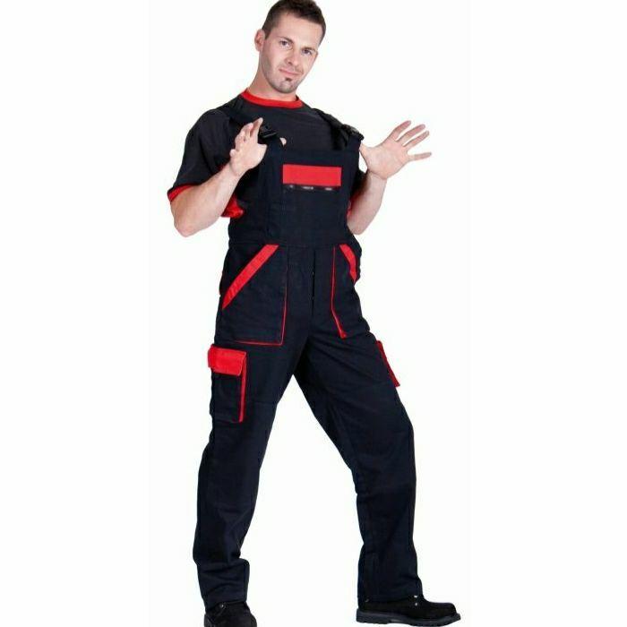 Max kertész nadrág profiknak - fekete/piros