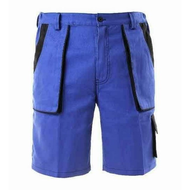 Munkaruha rövidnadrág - pamut, 5 zseb, kék rövidnadrág Tomás