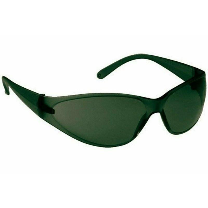 Airlux szemüveg páramentes, zöld keret és zöld lencse széles lát