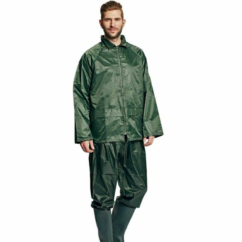 Orkán esőöltöny zöld, kapucnis -Carina