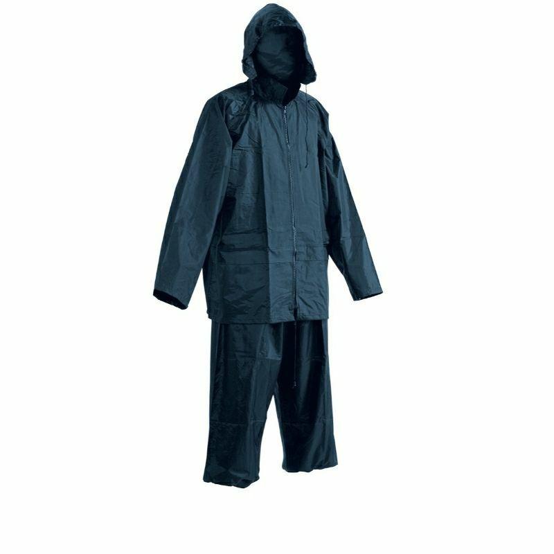 Carina vízálló esőruha öltöny, nadrág + kabát - KÉK