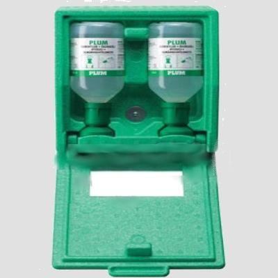PLUM nyitható fali doboz 2db 0,5 l-es palackkal, tükörrel