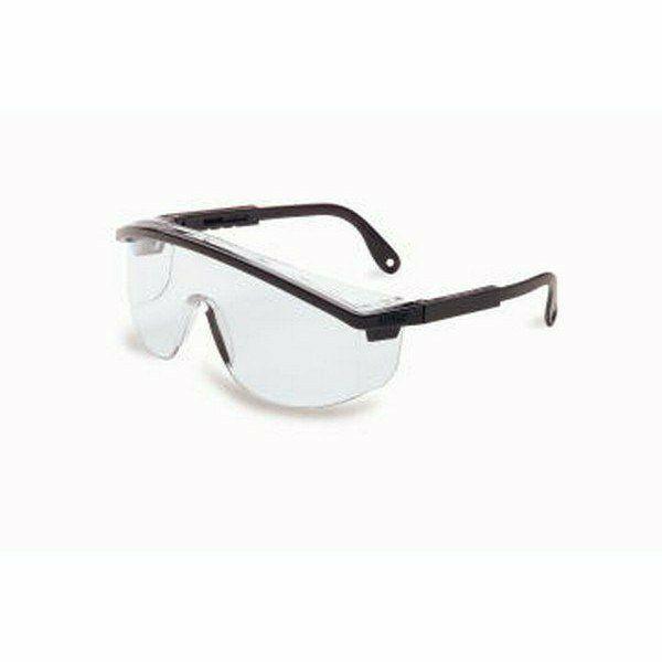 Astrospec Uvex szemüveg, végén párnázott, állítható, szürke szár