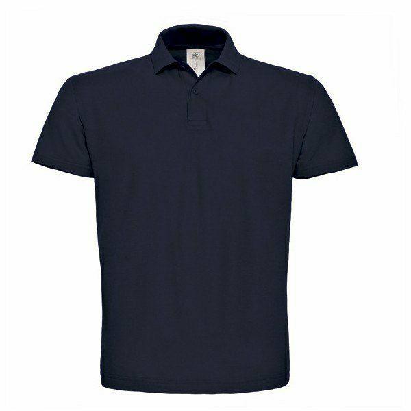 B&C ID.001 teniszgalléros divatos piqé póló színes!