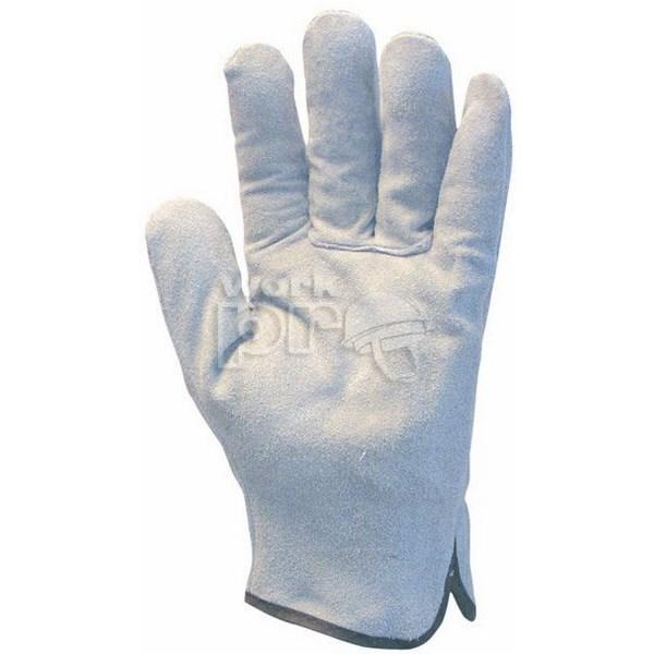 Munkavédelmi kesztyű - Marhahasíték a tenyér és kézhát részen is