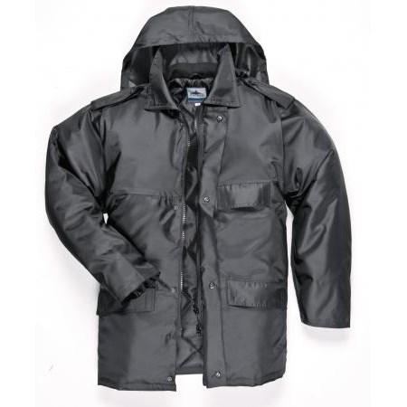 Security kabát Fekete