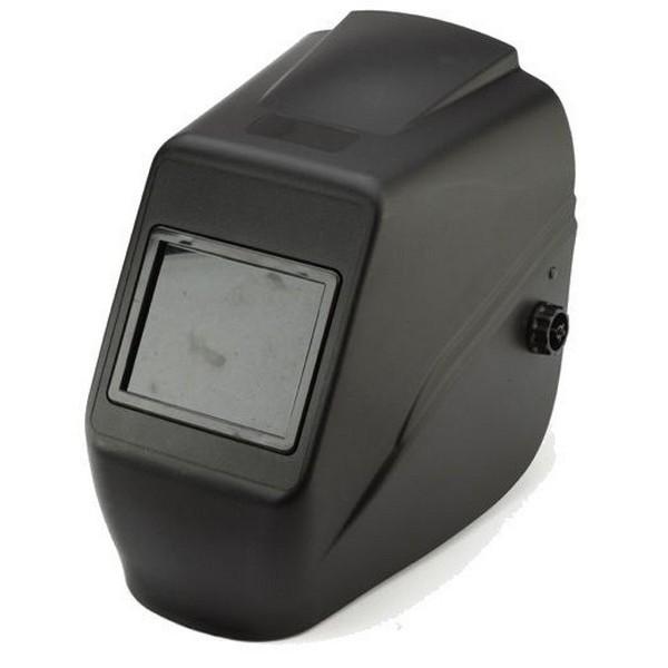 Hegesztő PP fejpajzs 110x90mm-es látómezővel