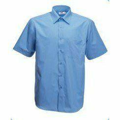 Fruit Short Sleeve Poplin Shirt Rövid ujjú Férfi ing
