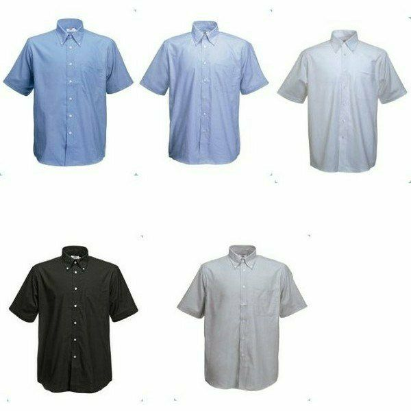 Fruit Short Sleeve Oxford Shirt Rövid ujjú Férfi ing